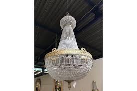 antique french chandelier vintage industrial huge 180cm tall vinterior