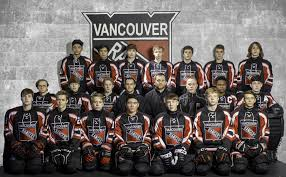 the 2018 19 vancouver jr rangers u16 hockey team from mountain view ice arena