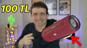 100TL'ye bu Performans? Linktech Q215 Bluetooth Hoparlör incelemesi FM,AUX,  SD, USB - YouTube
