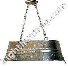 galvanized lighting fixtures. Galvanized Lighting Tub Hanging Light Fixtures Bucket