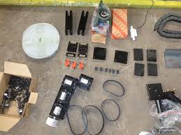 mechanical components linear rail and laser head parts co2 cutting for machine 6040 6090 1290 1390 1480 1610