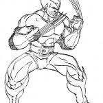 Small Picture Printable Wolverine Coloring Pages For Kids Cool2bkids Coloring
