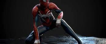 3440x1440 Spider-man, 3d Model Wallpapers