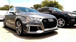 2018 audi grey. beautiful audi 2018 audi rs3 in austin texas for audi grey