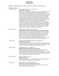 Pharmacy Technician Resume Delectable Updated Pharmacy Technician Resume
