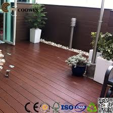 good quality outdoor waterproof wood plastic composite wpc decking floor pictures photos