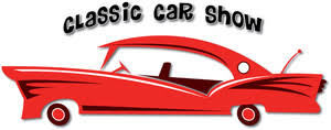 Car Show Clipart Image Clip Art Illustration Of A Classic Car Sign