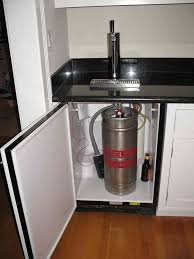 home bar countertop kegerator wooden countertops