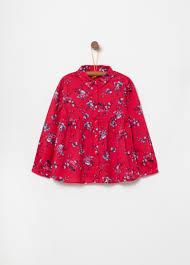 <b>100</b>% <b>viscose</b> shirt with <b>floral print</b>   OVS