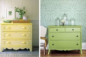 green painted furniture. Give Your Furniture A Makeover With Some Brightly-coloured Paint. Green Painted E
