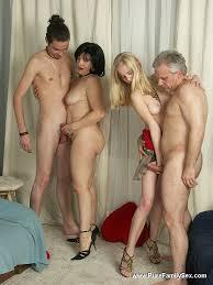 Full family orgy porn
