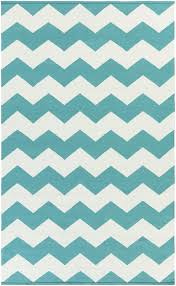 vogue teal white chevron rug and area black canada modern