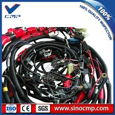 pc200 8 pc210 8 komatsu excavator complete wiring harness cmp pc200 8 pc210 8 komatsu excavator complete wiring harness