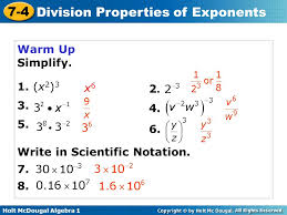 Division Properties Of Exponents Worksheet Free Worksheets Library ...
