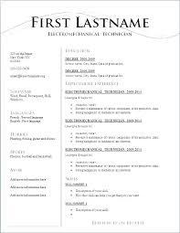 Resume Layout Example Enchanting Resume Structure Examples Waitress Resume Samples Examples Of Server