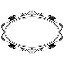 oval frame design. Oval Designs Clipart Vector Free Library Oval Frame Design O