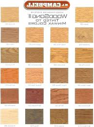 Floor Stain Color Chart Furniture Wood Stain Colors Legalduihelp Website