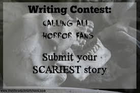 the chronicles of chaos writing contest calling all horror fans oh halloween humor gotta love it it s that time of year friends when we hear things that go bump in the night