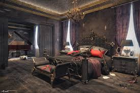 Goth Bedroom Furniture Gothic Bedroom