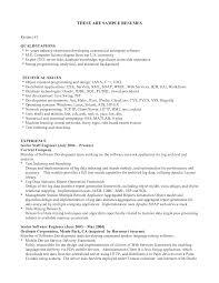 Sample Of Skills Resume Yralaska Com