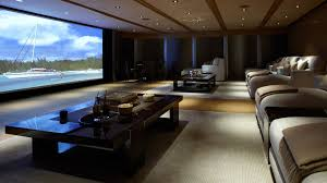 Theatre Rooms In Homes Home Theater Room Design Ideas Red Carpet Floral Pattern Wall