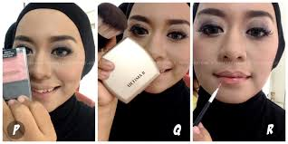 koleksi video cara memakai make up natural