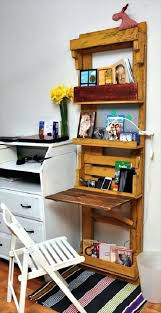 office space saving ideas. Wonderful Reclaimed Pallet Space Saver Desk Office Inspirations Work Saving Ideas
