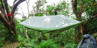 outdoor camping hammock single double people nylon ultra light portable swing beach leisure