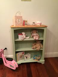 Bedroom Furniture Warrington Free Standing Bookshelf Hand Painted With Autentico Mistique Chalk