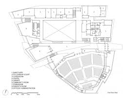 First floor plan drawing courtesy of teeple architects