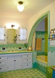 A Bright Art Deco Bathroom - Old House Restoration, Products ...