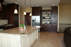 Travertine Flooring In Kitchen Awesome Kitchen Contemporary Cabinets Travertine Floor Dousuke
