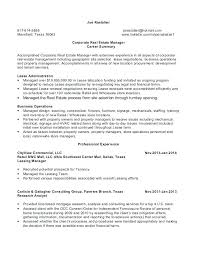 Property Manager Resume Sample – Lifespanlearn.info