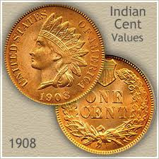 1908 Indian Head Penny Value Discover Their Worth