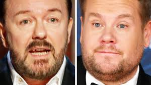 Daily express see more videos. Ricky Gervais James Corden Their Harshest Jokes About One Another