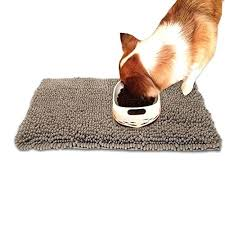 pet mats for food and water microfiber absorbent dogs cats bowl dog rug free mud rugs probe dog creative bathroom absorbent mats