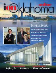 Ion Oklahoma Magazine August September 2017 By Don Swift Issuu
