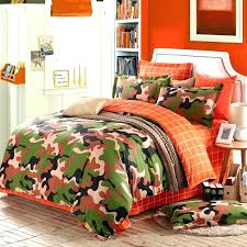 orange camo bedding post realtree