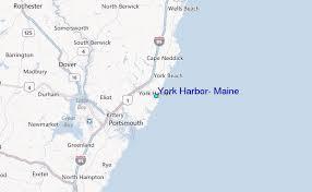 York Harbor Maine Tide Station Location Guide