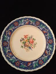 Ingles Floral Prato Decorativo Ingles Floral