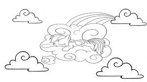 My Little Pony Mlp For Kids Coloring Pages L My Little Pony