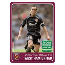 Arrived as kit suppliers in 1989. West Ham 2000 01 Retro Shirt Away Retrofootball
