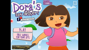 dora box delivery kids game dora the explorer games baby games
