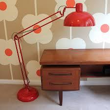 anglepoise lighting. brushed copper angled floor lamp anglepoise lighting