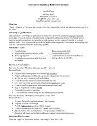 Sample School Secretary Resume