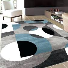 red circular rugs modern circles rug rings and area x round
