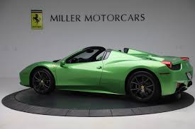It's genuinely pleasant to drive. Pre Owned 2015 Ferrari 458 Spider For Sale Special Pricing Mclaren Greenwich Stock 4613