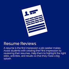 Resume Review Parents Ave Maria University Career Services 40