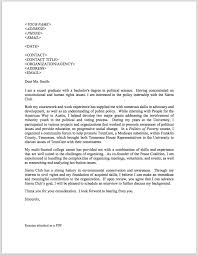 Cover Letter Political Science Internship - Mediafoxstudio.com