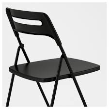 white chairs ikea nisse folding chair high. Interesting White IKEA NISSE Folding Chair You Sit Comfortably Thanks To The Chairu0027s Shaped  Back And Seat Intended White Chairs Ikea Nisse Folding Chair High S